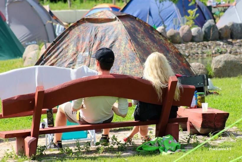 Summer campsite ''Camp Genys'' near the river Nemunas - 8