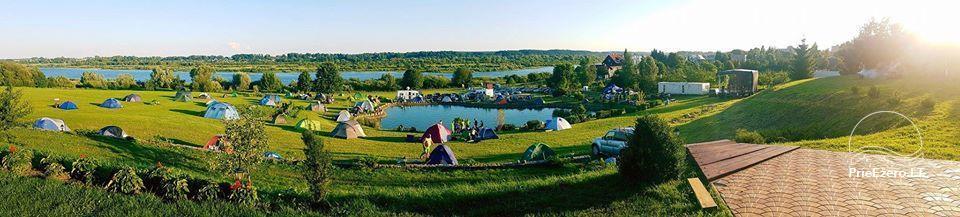 Summer campsite ''Camp Genys'' near the river Nemunas - 2