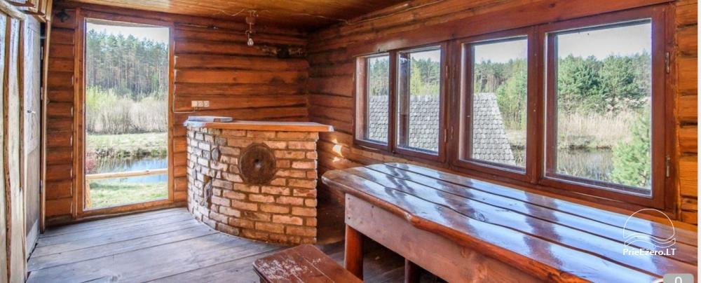 Homestead on the shore of the lake: sauna, large outdoor bathtub, banquet hall - 11