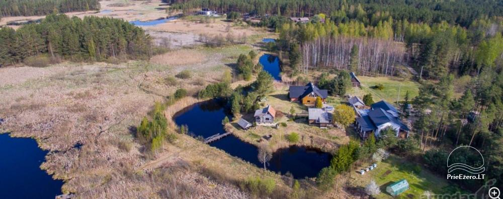 Homestead on the shore of the lake: sauna, large outdoor bathtub, banquet hall - 3