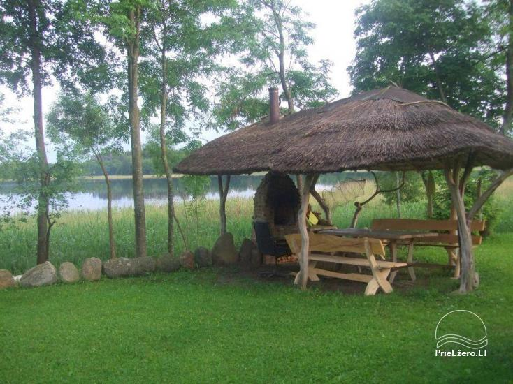 Homestead near the lake Lusiai and kayaks for rent Super kayaks - 9