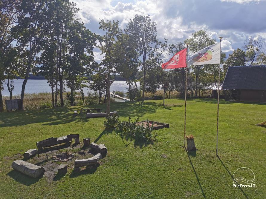 Homestead near the lake Lusiai and kayaks for rent Super kayaks - 15