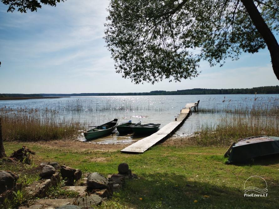 Homestead near the lake Lusiai and kayaks for rent Super kayaks - 23