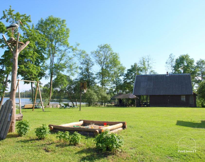 Homestead near the lake Lusiai and kayaks for rent Super kayaks - 19