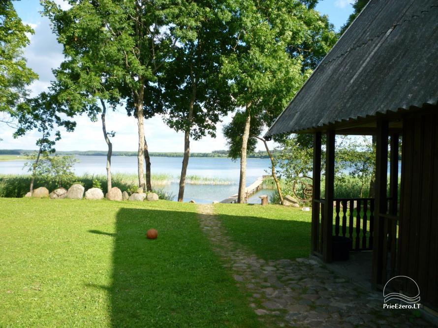 Homestead near the lake Lusiai and kayaks for rent Super kayaks - 22