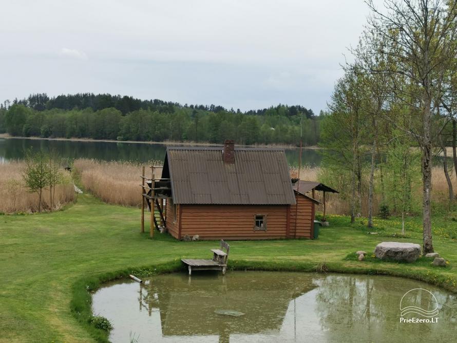 Homestead near the lake Lusiai and kayaks for rent Super kayaks - 28