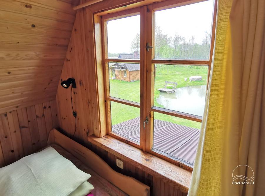 Homestead near the lake Lusiai and kayaks for rent Super kayaks - 43