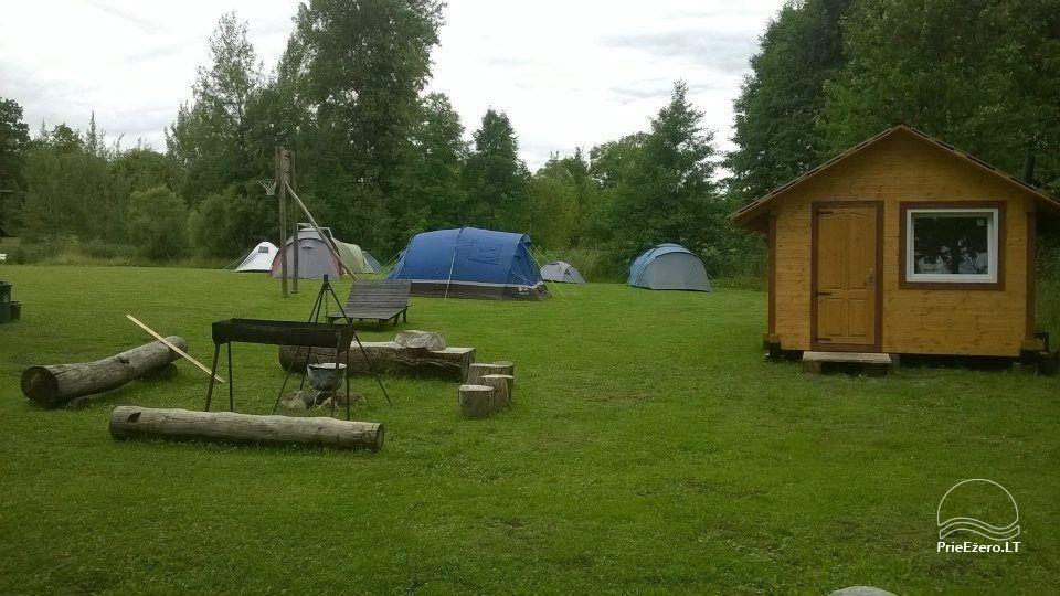 Homestead near the lake Lusiai and kayaks for rent Super kayaks - 45
