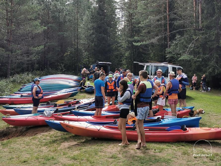 Homestead near the lake Lusiai and kayaks for rent Super kayaks - 49
