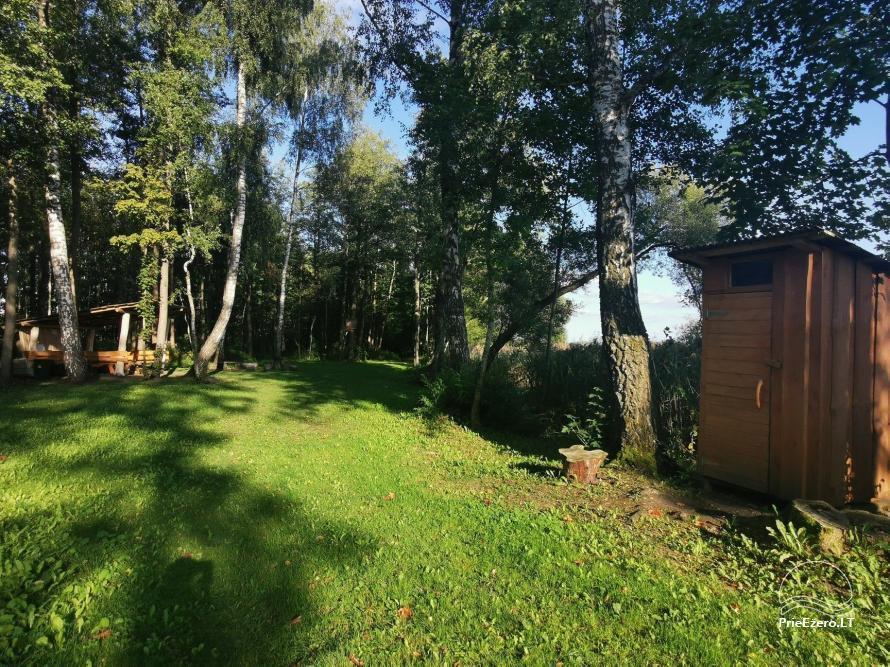 Homestead near the lake Lusiai and kayaks for rent Super kayaks - 48