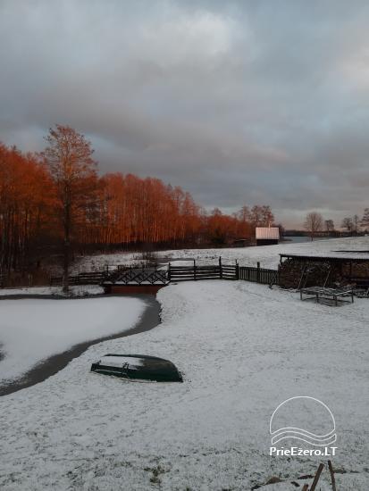 Countryside homestead near Ilmedas lake, in Lithuania, Moletai region - 30