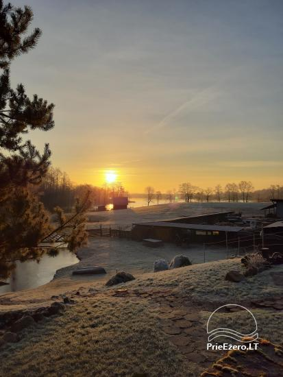 Countryside homestead near Ilmedas lake, in Lithuania, Moletai region - 29