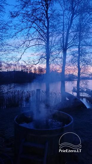 Countryside homestead near Ilmedas lake, in Lithuania, Moletai region - 25