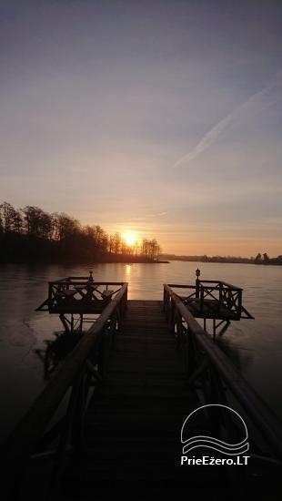 Countryside homestead near Ilmedas lake, in Lithuania, Moletai region - 27