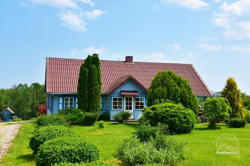 Countryside homestead near Ilmedas lake, in Lithuania, Moletai region - 2