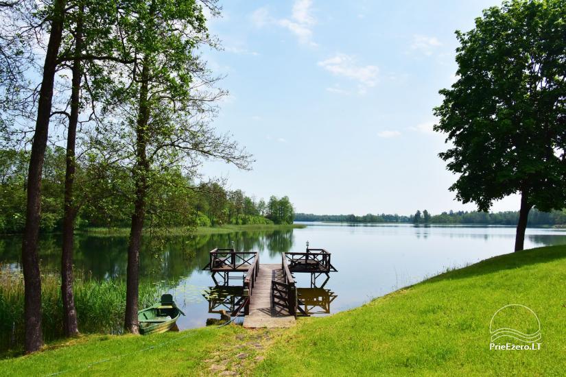 Countryside homestead near Ilmedas lake, in Lithuania, Moletai region - 26