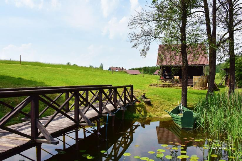 Countryside homestead near Ilmedas lake, in Lithuania, Moletai region - 20
