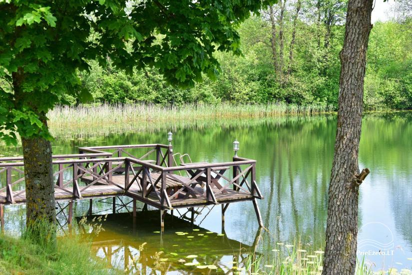 Countryside homestead near Ilmedas lake, in Lithuania, Moletai region - 28
