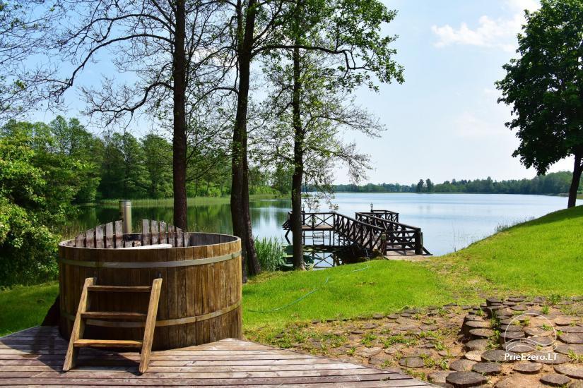 Countryside homestead near Ilmedas lake, in Lithuania, Moletai region - 24