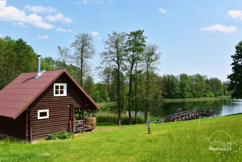 Countryside homestead near Ilmedas lake, in Lithuania, Moletai region - 19