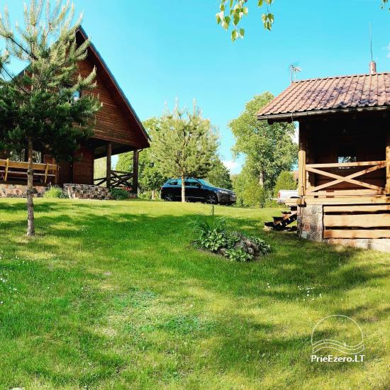 Countryside homestead on the shore of the lake Aisetas in Lithuania - 14