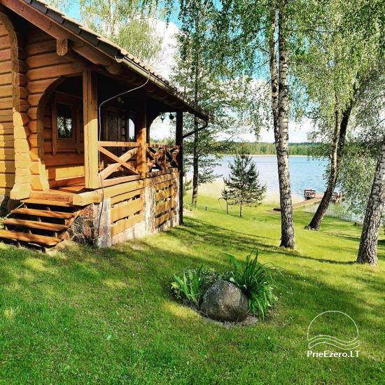 Countryside homestead on the shore of the lake Aisetas in Lithuania - 15