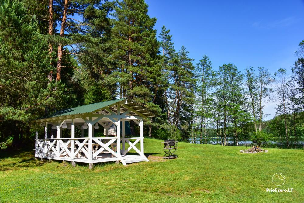 Campsite for rest near Zeimenis in Lithuania - 24
