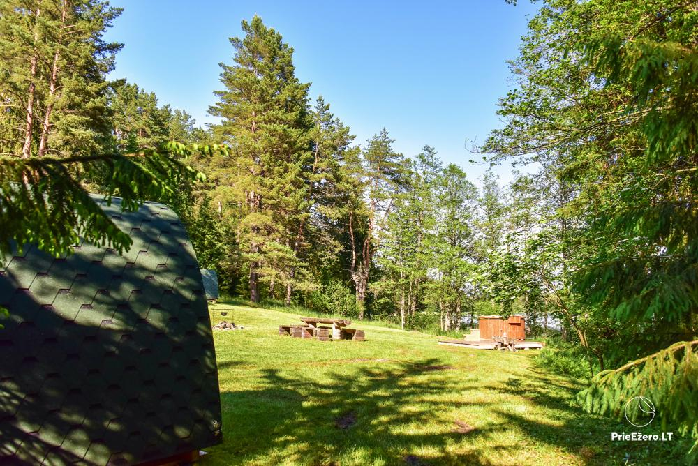 Campsite for rest near Zeimenis in Lithuania - 13
