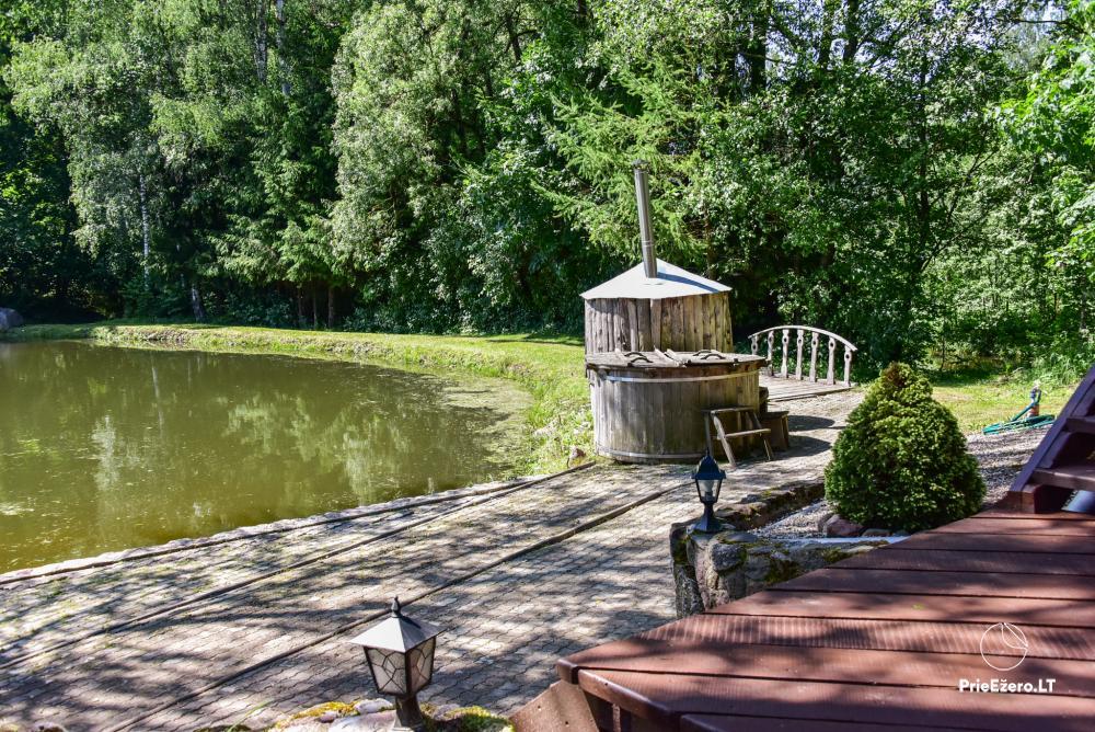 Countryside homestead in Kelme region A pearl of Voverishke - 17