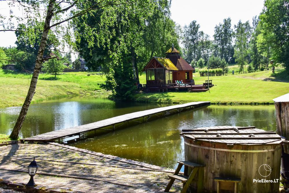 Countryside homestead in Kelme region A pearl of Voverishke - 16