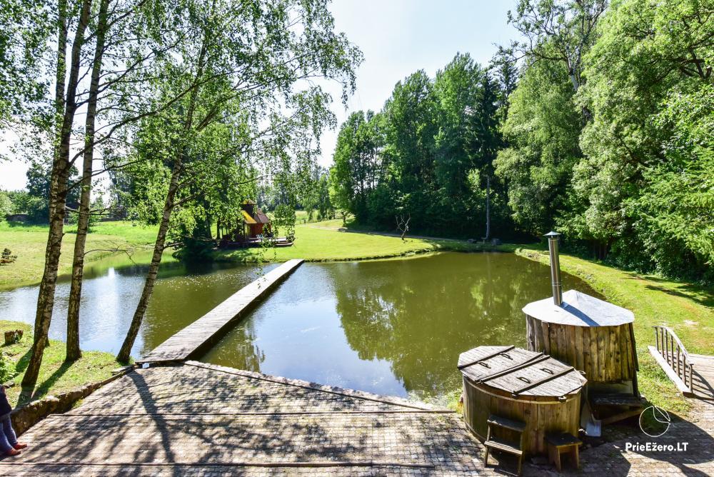 Countryside homestead in Kelme region A pearl of Voverishke - 15