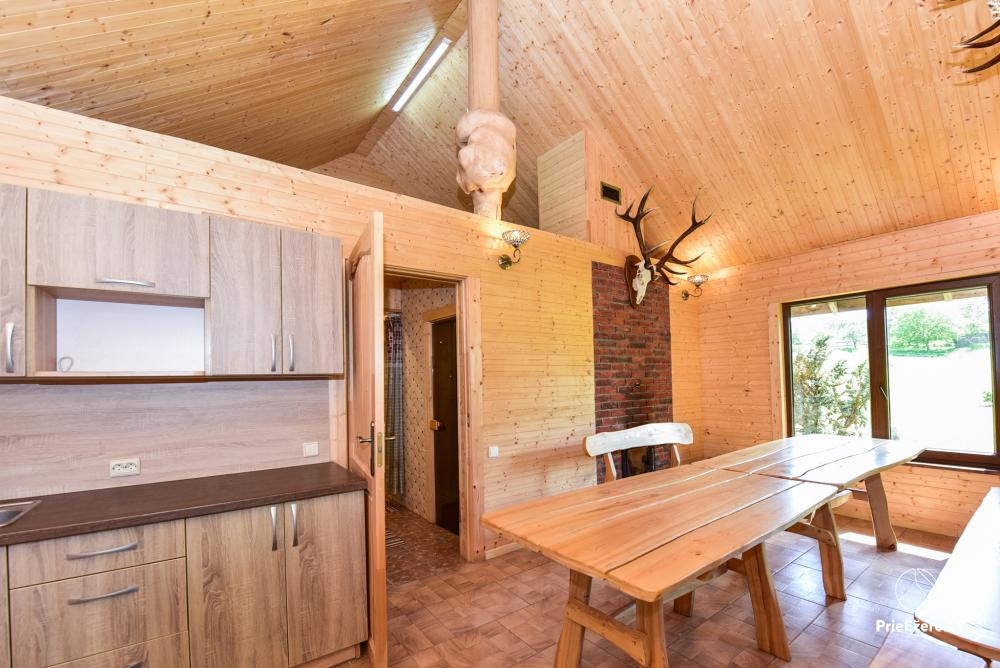 Countryside homestead in Kelme region A pearl of Voverishke - 39