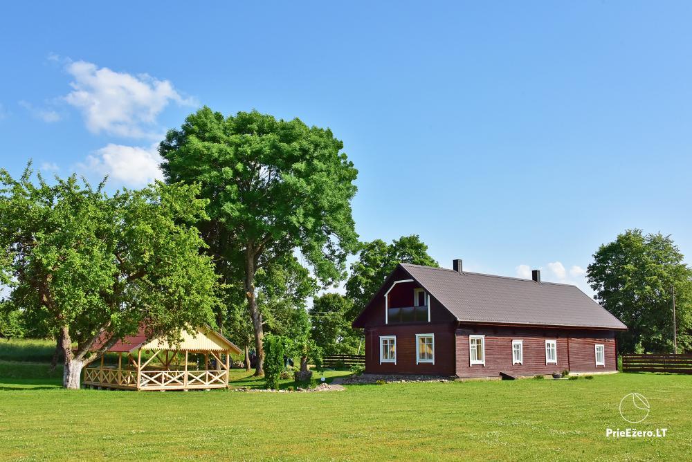 Countryside homestead near the lake in Lithuania Prie koptos - 1