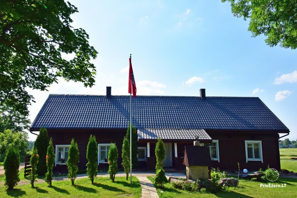 Countryside homestead near the lake in Lithuania Prie koptos - 2