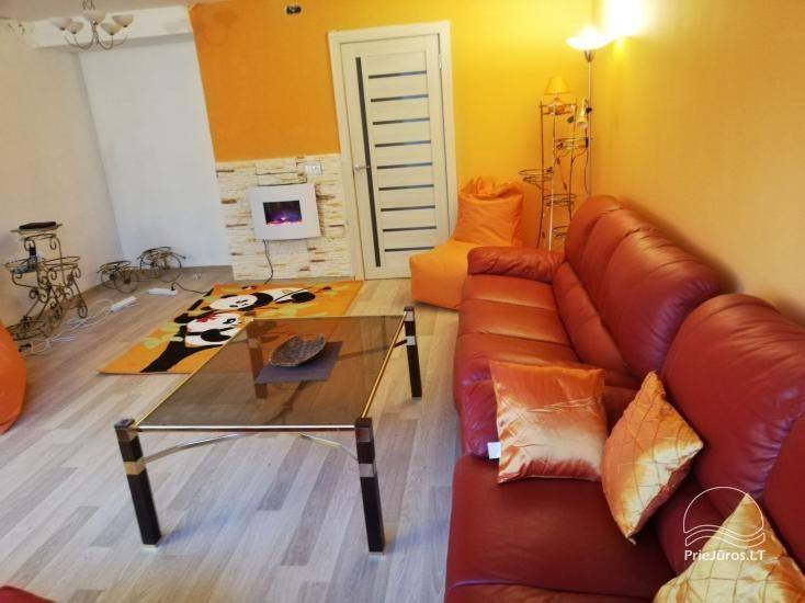 Modern apartment for rent in Rusne, up to 6 guests, very good location for fishermen - 1