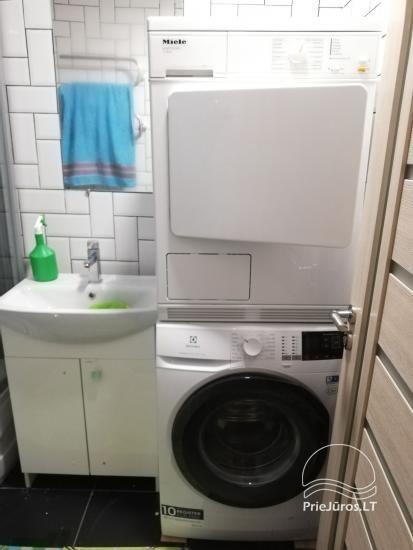 Modern apartment for rent in Rusne, up to 6 guests, very good location for fishermen - 8