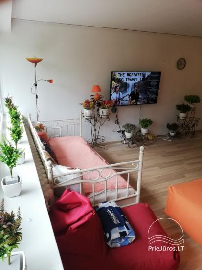 Modern apartment for rent in Rusne, up to 6 guests, very good location for fishermen - 11