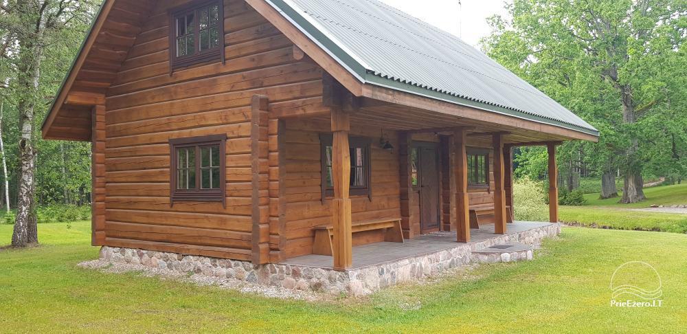 Дубы Айсета - загородная усадьба у озера Айсетас в Литве - 5