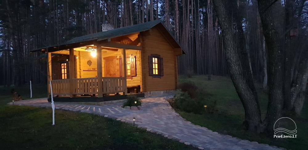 Дубы Айсета - загородная усадьба у озера Айсетас в Литве - 14
