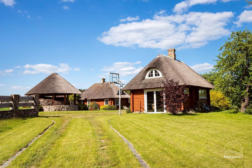Countryside homestead for rent in Paezeriai, in Lithuania - 1