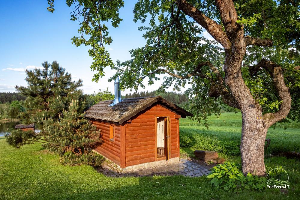Countryside homestead for rent in Paezeriai, in Lithuania - 11