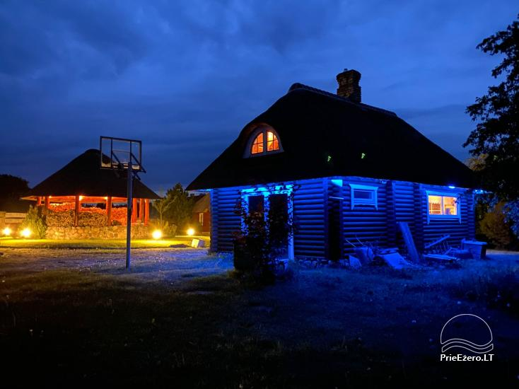 Countryside homestead for rent in Paezeriai, in Lithuania - 15