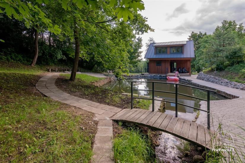 Lugne House - countryside homestead in Trakai region near the lake - 10