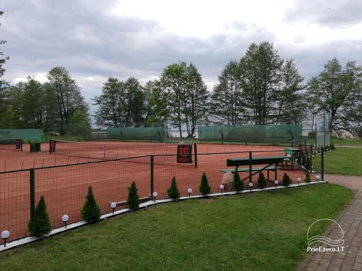 Merfeld valley - countryside homestead with two tennis courts near Meteliai lake - 3