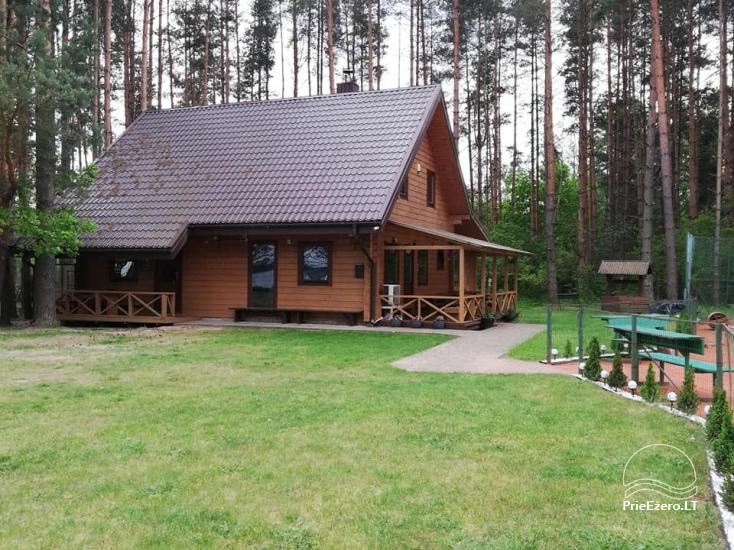 Merfeld valley - countryside homestead with two tennis courts near Meteliai lake - 1