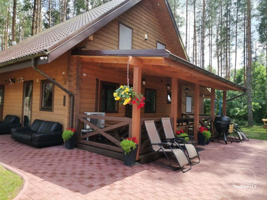 Merfeld valley - countryside homestead with two tennis courts near Meteliai lake - 9