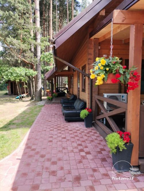 Merfeld valley - countryside homestead with two tennis courts near Meteliai lake - 10