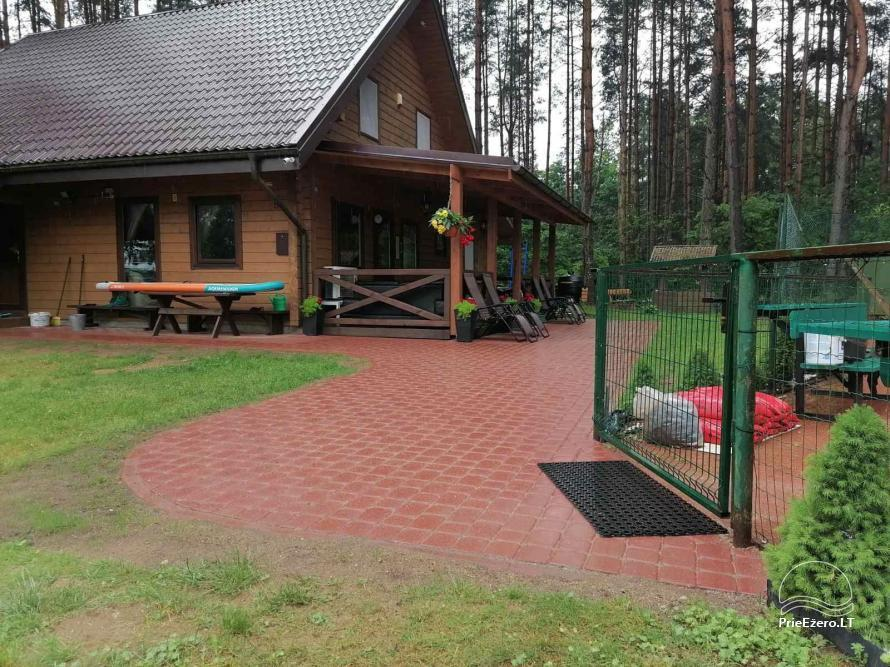 Merfeld valley - countryside homestead with two tennis courts near Meteliai lake - 30
