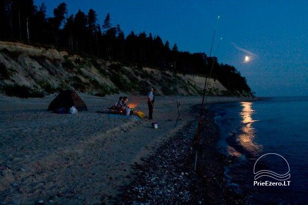 Camping SILI. Holiday Cottages, Bathhouse, Places for Tents - 5