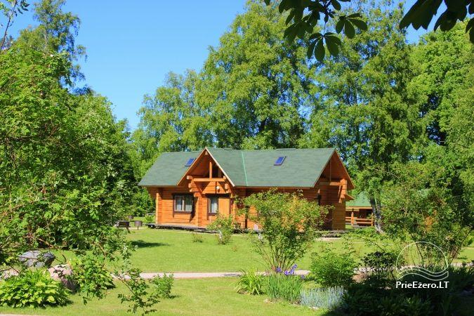 Camping SILI. Holiday Cottages, Bathhouse, Places for Tents - 1
